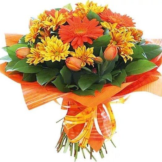 Букет Солнечного настроения! Код 170063: букеты цветов на заказ Flowwow