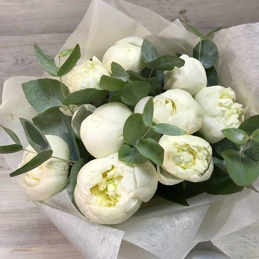 White ice cream: букеты цветов на заказ Flowwow