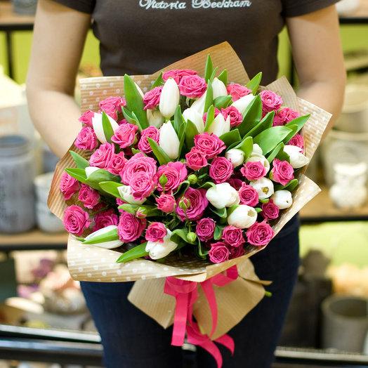 Букет цветов Атлантида: букеты цветов на заказ Flowwow