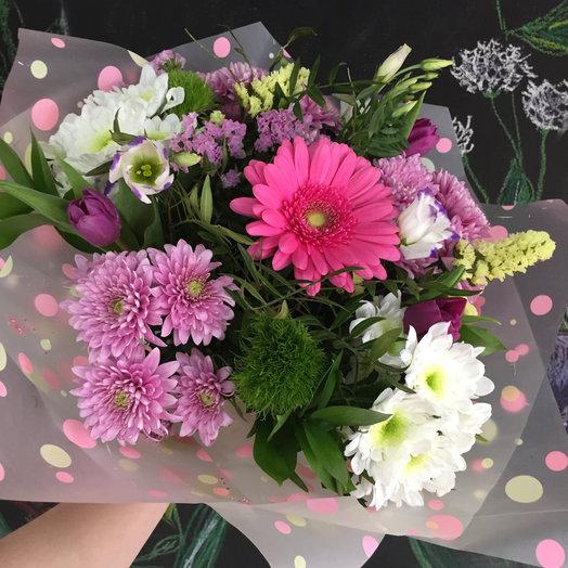 Букет сборный : букеты цветов на заказ Flowwow