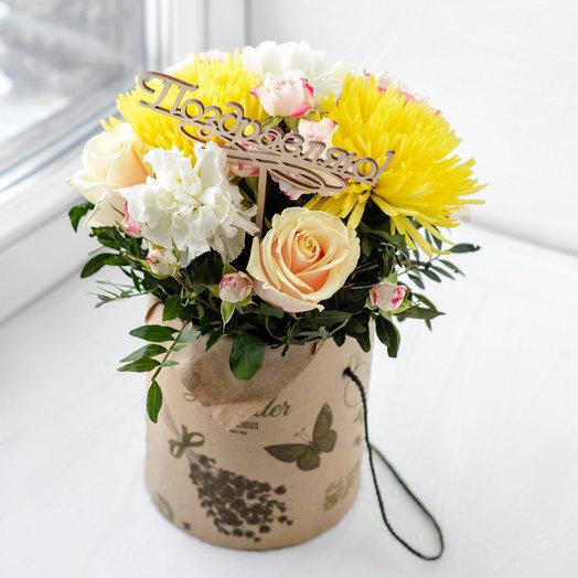 Нежное солнце: букеты цветов на заказ Flowwow