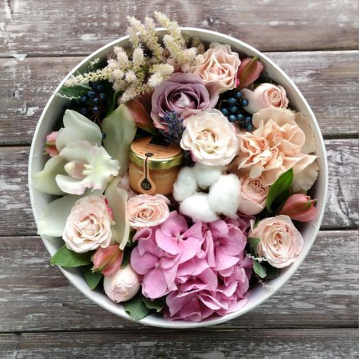 Цветы и мёд: букеты цветов на заказ Flowwow