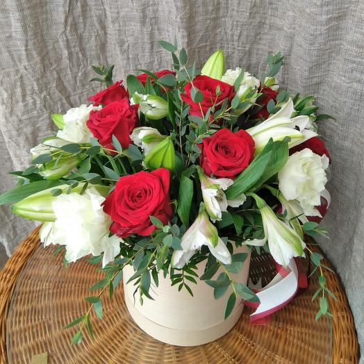 Микс в коробочке 2: букеты цветов на заказ Flowwow