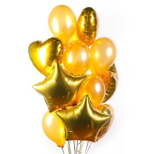 """Букет """"Золотой бум"""": букеты цветов на заказ Flowwow"""