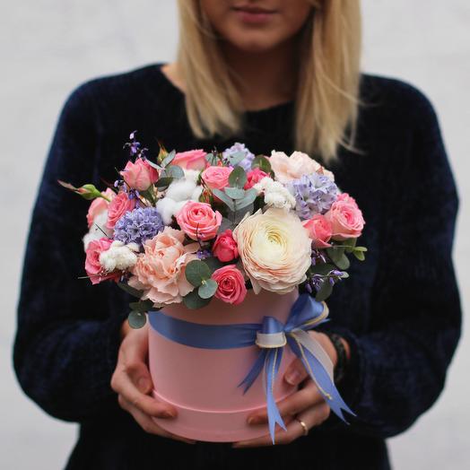 Бокс 07: букеты цветов на заказ Flowwow