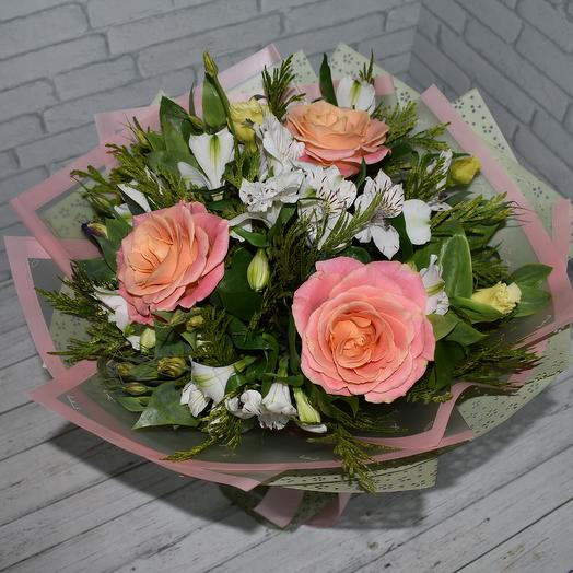 Мисс Нежность: букеты цветов на заказ Flowwow