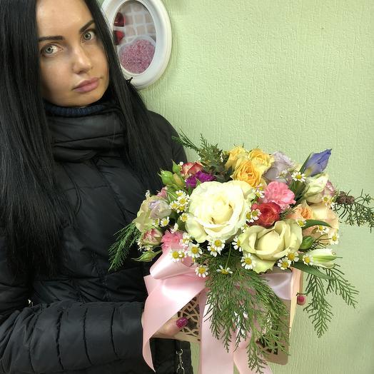 Веселое настроение: букеты цветов на заказ Flowwow