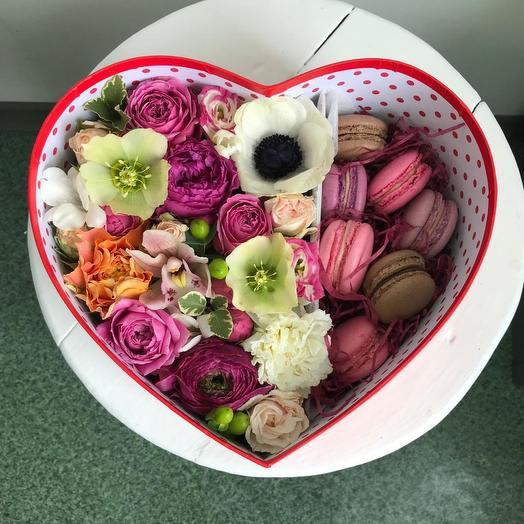 Шикарная коробка сердце