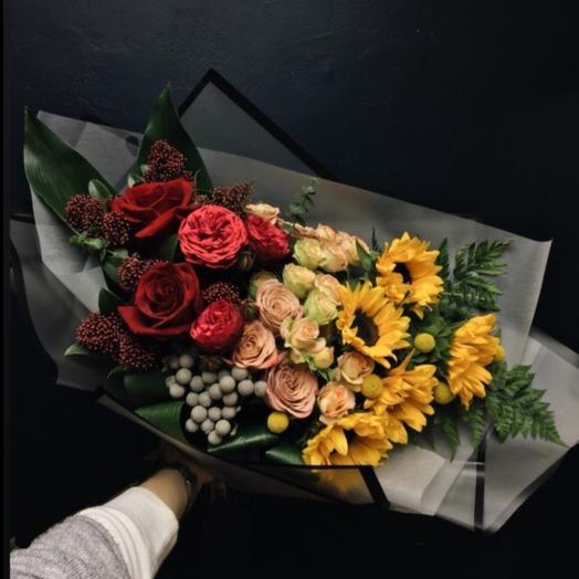 Антуанетта: букеты цветов на заказ Flowwow