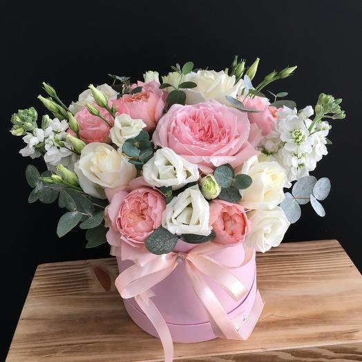 Коробчка дня - с медовым ароматом: букеты цветов на заказ Flowwow