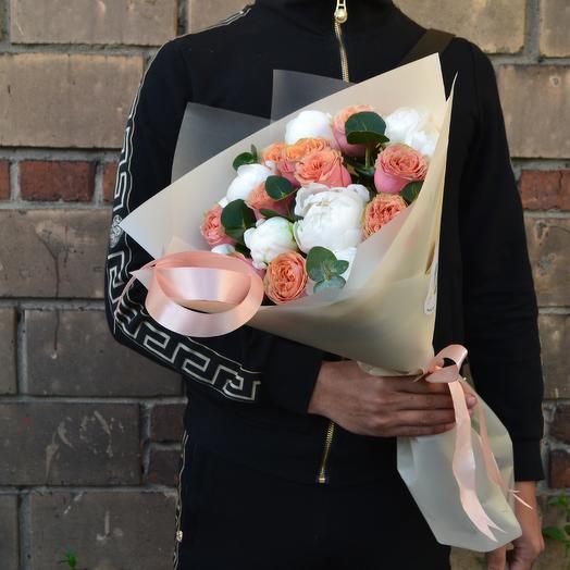 Парижская искренность: букеты цветов на заказ Flowwow