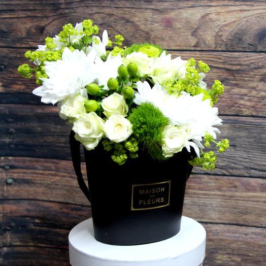 """Букет """"Зеленый сад"""": букеты цветов на заказ Flowwow"""