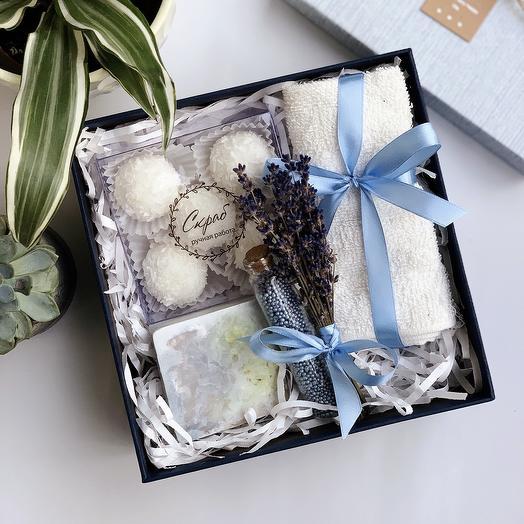 Подарочный набор для тела маме: букеты цветов на заказ Flowwow