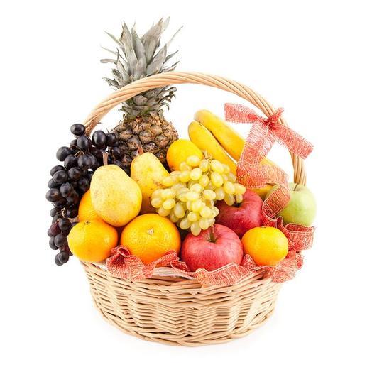 """Корзина с фруктами """"Ярмарка"""": букеты цветов на заказ Flowwow"""