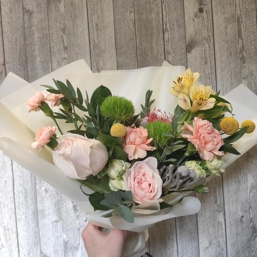 Экзотический комплимент: букеты цветов на заказ Flowwow