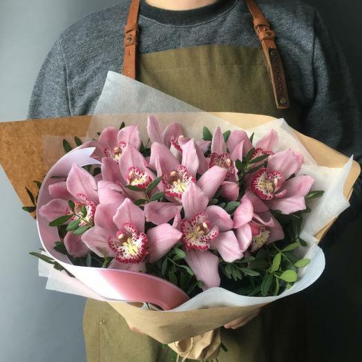 """Нежный букет орхидей """"Порхание бабочек"""": букеты цветов на заказ Flowwow"""