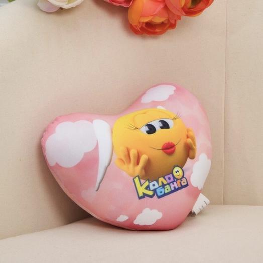 """Игрушка-подушка антистресс """"Самой любимой и красивой!"""" колобанга: букеты цветов на заказ Flowwow"""