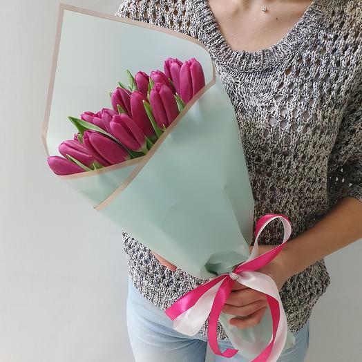 Тюльпан фиолетовый: букеты цветов на заказ Flowwow