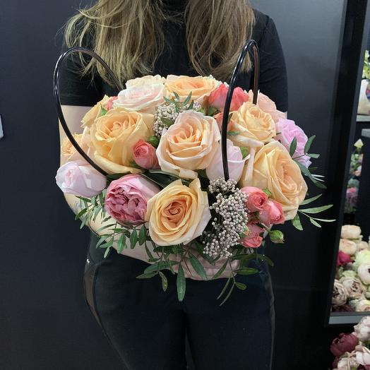 Крем брюле: букеты цветов на заказ Flowwow