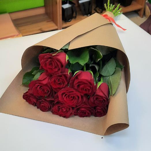 Розы в крафте11