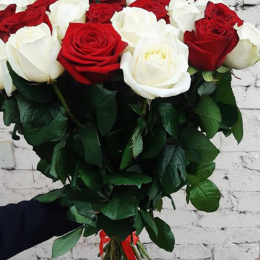 """Букет роз """"Love"""": букеты цветов на заказ Flowwow"""