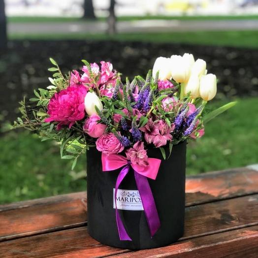 """Мужской букет """"Фиолетовый дракон"""": букеты цветов на заказ Flowwow"""