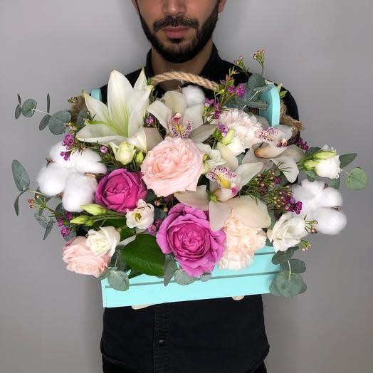 «Счастье»: букеты цветов на заказ Flowwow