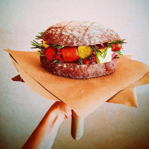 Бургер-букет