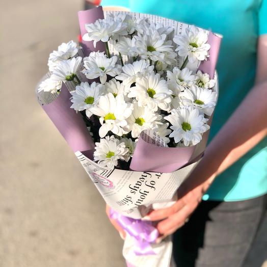 Букет хризантем «Для любимой»