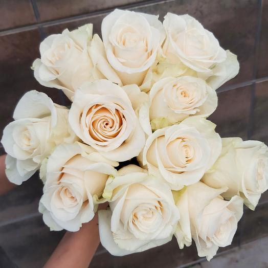 Монобукет Vendela роза одноголовая 50 см — 11 шт под ленту