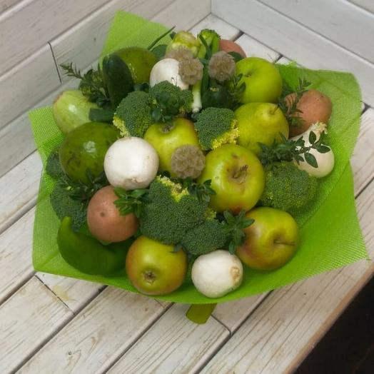 Букет из овощей Вкусняшка