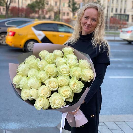 Классика Белые розы