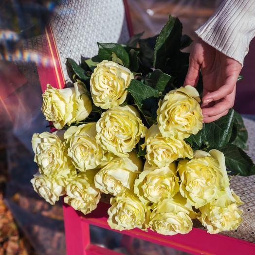 Букет из Эквадорских роз Мондиаль
