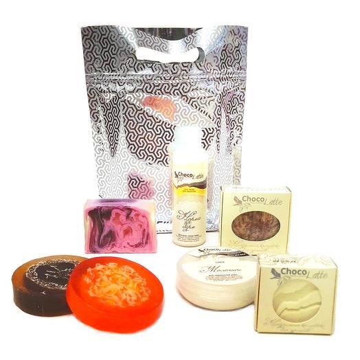 Набор Блестящий подарок (косметика+мыло)