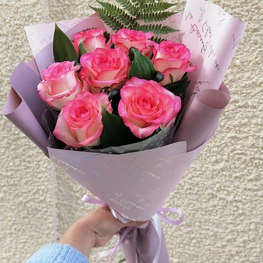 "Букет роз ""Джамиля"""