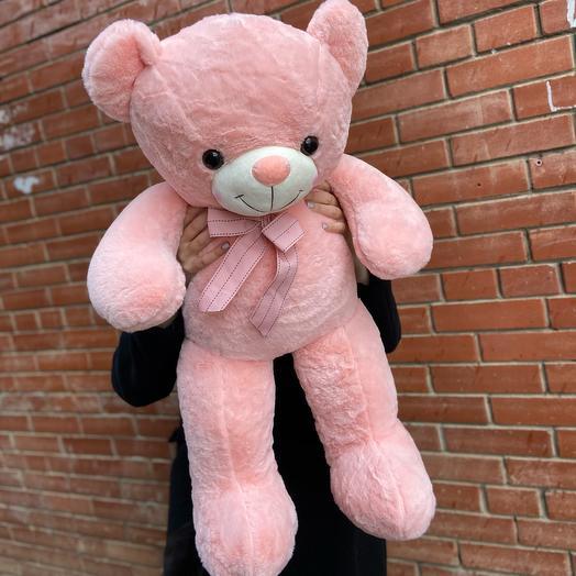 Розовый плюшевый мишка