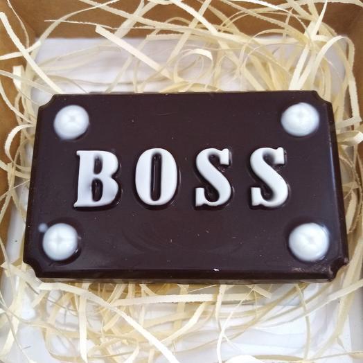 Шоколад подарочный BOSS