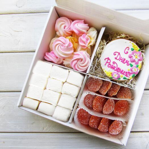 """""""С Днем Рождения 2"""", подарочный набор сладостей"""