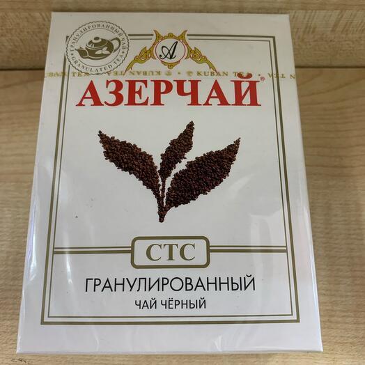 Азерчай чёрный гранулированный