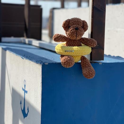 Мягкие игрушки плюшевый медведь