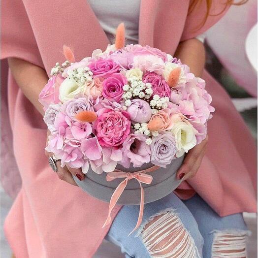 "Цветы в коробке ""Алюр"""