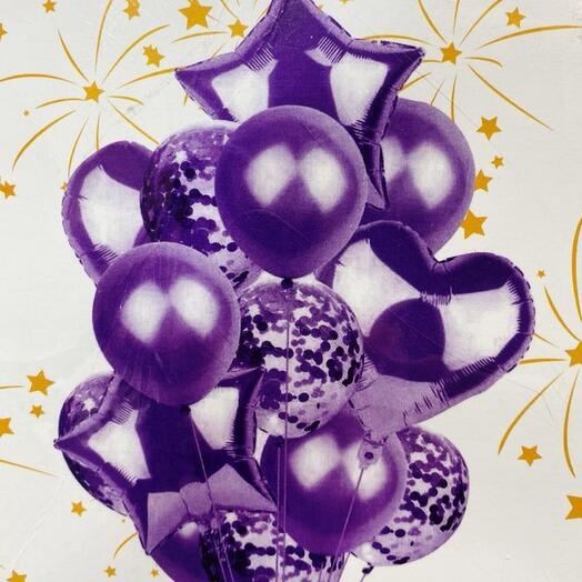 Шары Фиолет