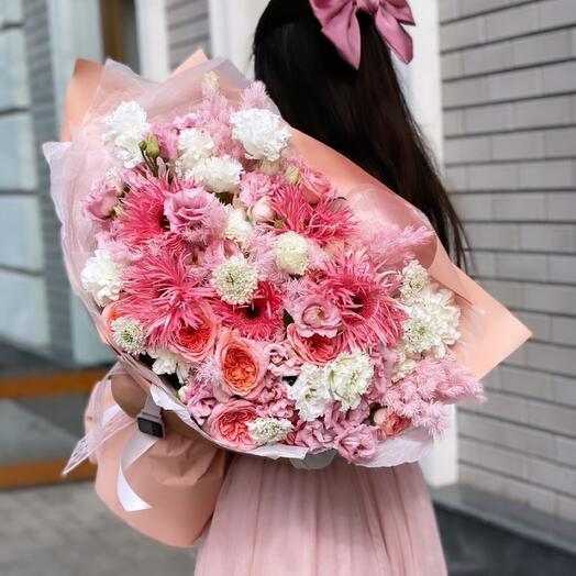 Самый розовый букет