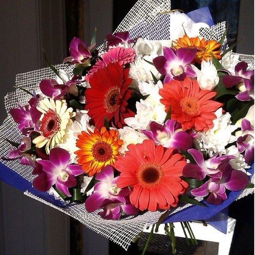 Позитивный :-): букеты цветов на заказ Flowwow