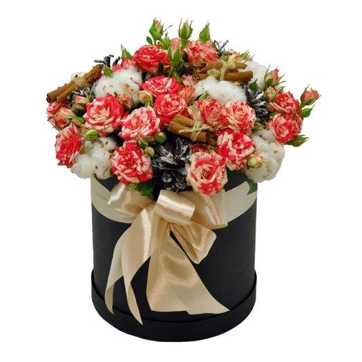 Букет Скандинавия в коробке: букеты цветов на заказ Flowwow