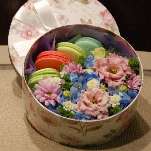Коробка Нежное облако: букеты цветов на заказ Flowwow