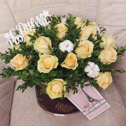 Ванильные сны: букеты цветов на заказ Flowwow