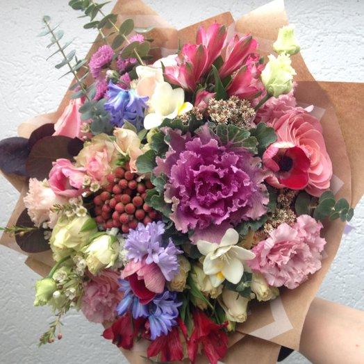 Любовное кружево: букеты цветов на заказ Flowwow