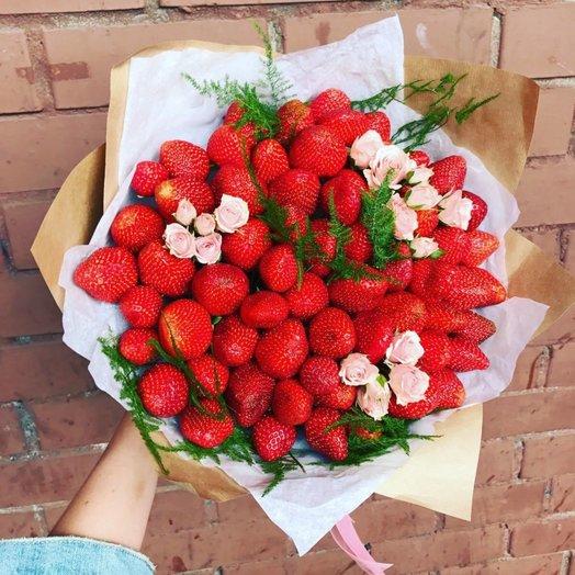 Ягодное вдохновение: букеты цветов на заказ Flowwow