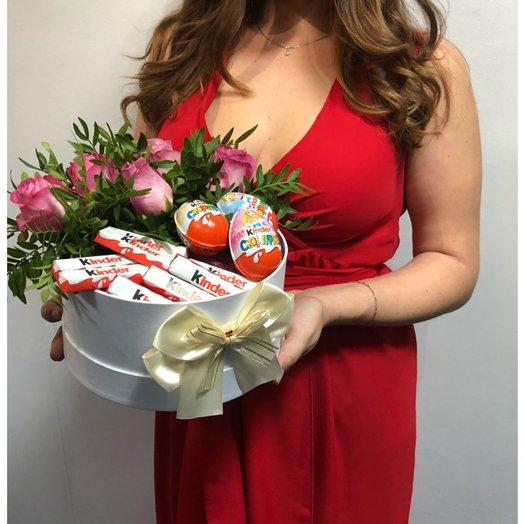 Chocolate  Roses: букеты цветов на заказ Flowwow